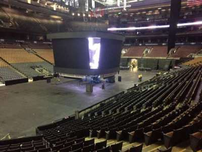Air Canada Centre, section: 122, row: 20, seat: 5