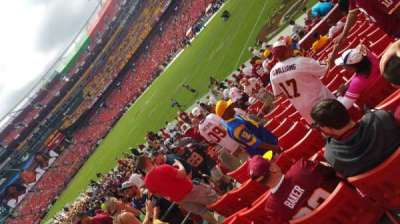 FedEx Field section 116