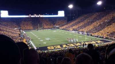 Kinnick Stadium section 219
