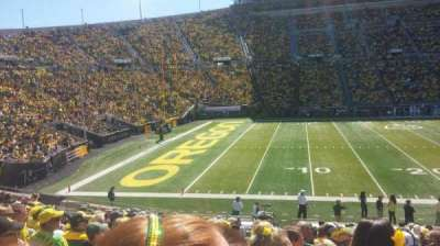 Autzen Stadium, section: 14, row: 24, seat: 19