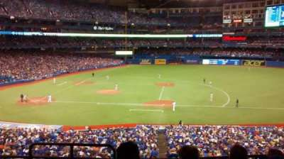 Rogers Centre, section: 218R, row: 5, seat: 1