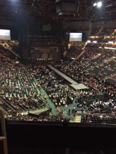 Sprint Center, section: 202, row: 3, seat: 20