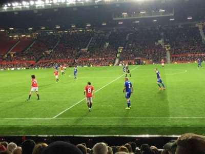 Old Trafford, section: N1407, row: PP, seat: 140