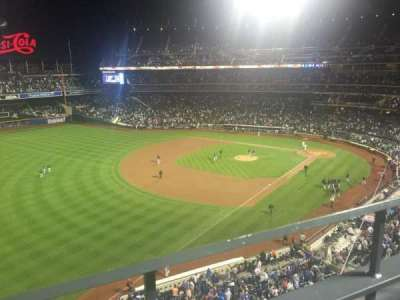 Citi Field, section: 427, row: 1, seat: 9