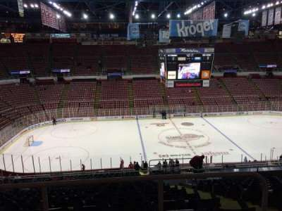 Joe Louis Arena, section: 223, row: 15, seat: 3