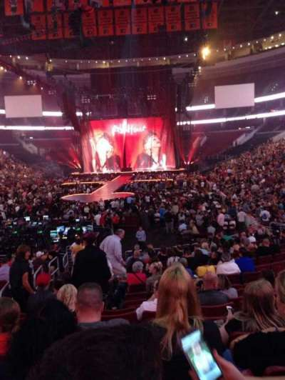 Wells Fargo Center, section: 108, row: 17, seat: 3