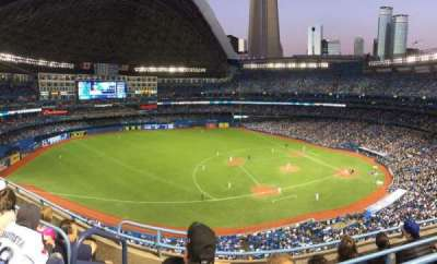 Rogers Centre, section: 532, row: 4, seat: 1