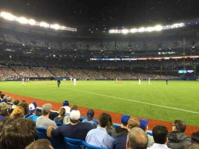 Rogers Centre, section: 113R, row: 5, seat: 9