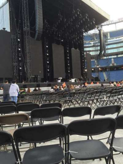 Gillette Stadium, section: A5, row: 14, seat: 8
