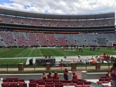 Bryant-Denny Stadium, section: J, row: 16, seat: 6