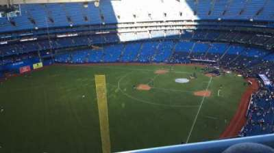 Rogers Centre, section: 539L, row: 20, seat: 108