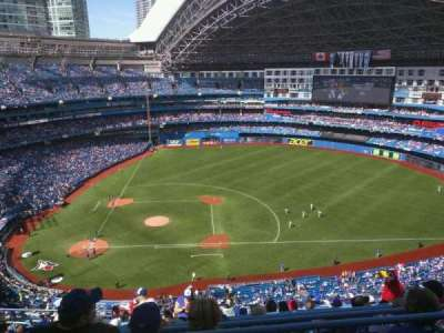 Rogers Centre, section: 519R, row: 21, seat: 4