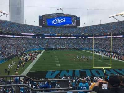 Bank of America Stadium, section: 202, row: 8, seat: 23