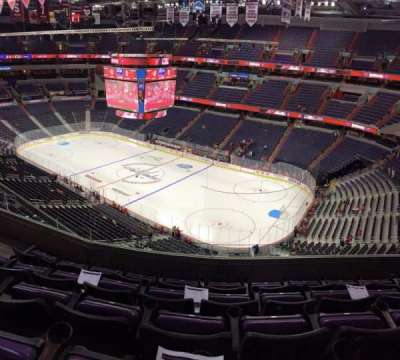 Verizon Center, section: 421, row: E, seat: 7
