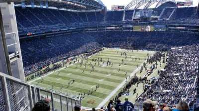 CenturyLink Field, section: 344, row: V, seat: 20