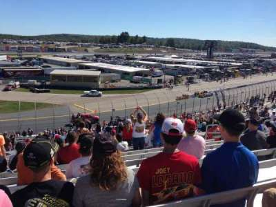 New Hampshire Motor Speedway, section: Laconia LC, row: 35, seat: 12