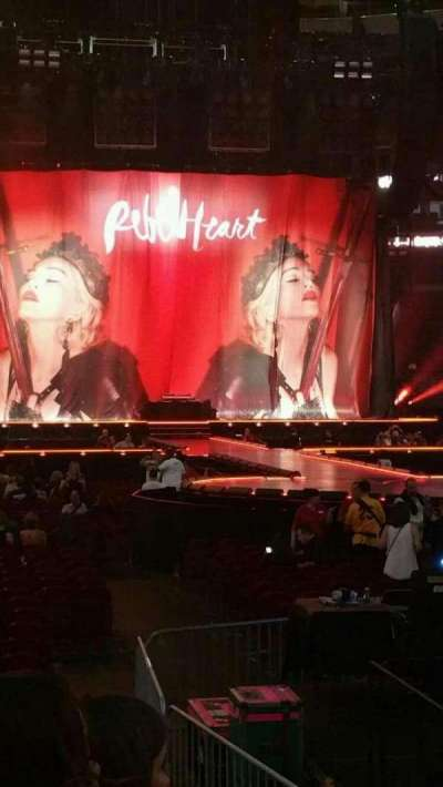Wells Fargo Center, section: 110, row: 5, seat: 15