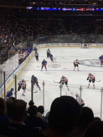 Madison Square Garden, section: 111, row: 15 , seat: 19
