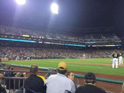PNC Park, section: 9, row: D, seat: 5