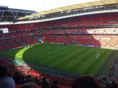 Wembley Stadium, section: 521, row: 1, seat: 235