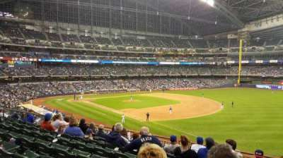 Miller Park, section: 209, row: 8, seat: 17