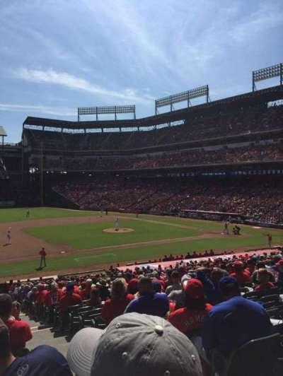 Globe Life Park in Arlington, section: 17, row: 29, seat: 13