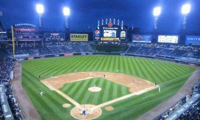 U.S. Cellular Field, section: 530, row: 2, seat: 1