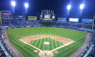 U.S. Cellular Field, section: 531, row: 2, seat: 8