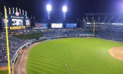 U.S. Cellular Field section 550