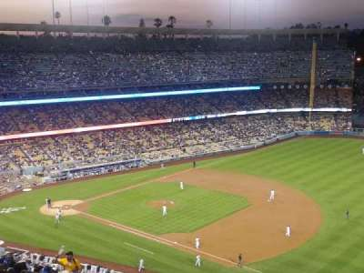 Dodger Stadium, section: 30RS, row: AA, seat: 5