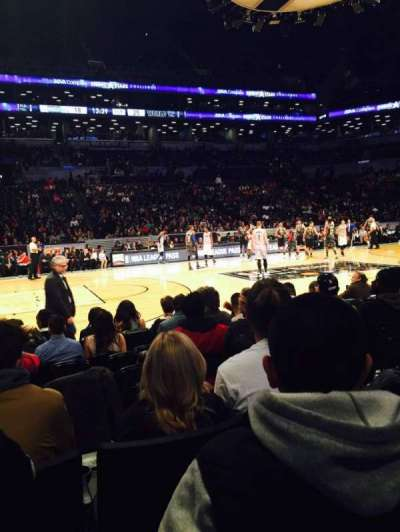 Barclays Center section 25