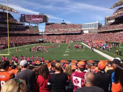 Paul Brown Stadium, section: 152, row: 15, seat: 8