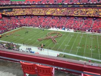 FedEx Field section 452