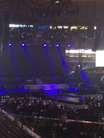 United Center, section: 213, row: 1, seat: 1