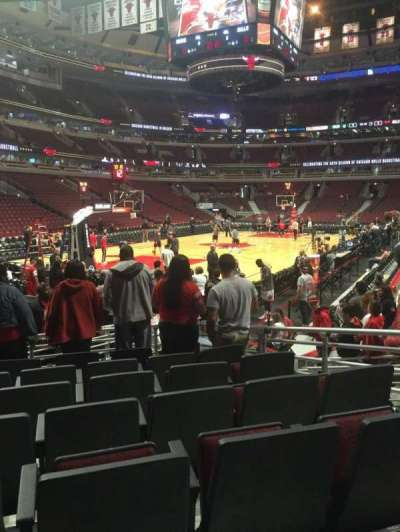 United Center section 104