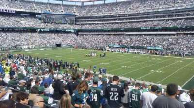 MetLife Stadium, section: 134, row: 29, seat: 6