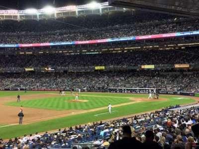 Yankee Stadium, section: 127b, row: 6, seat: 11