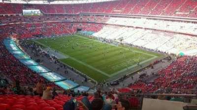Wembley Stadium, section: 519, row: 21, seat: 167