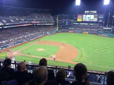 PNC Park, section: 308, row: L, seat: 14