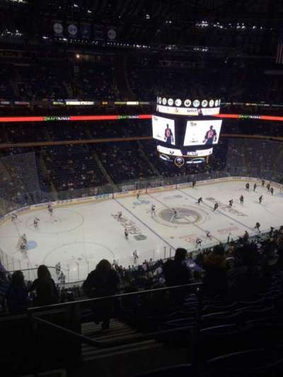 First Niagara Center, section: 308, row: 10, seat: 26