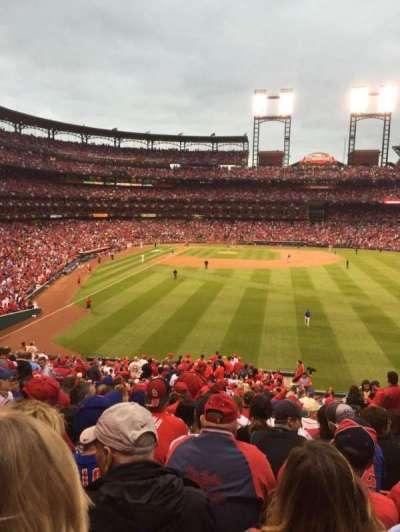 Busch Stadium, section: 111, row: 33, seat: 22