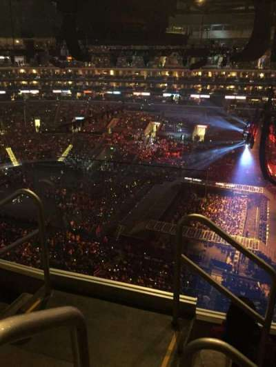Staples Center, section: 333, seat: 15