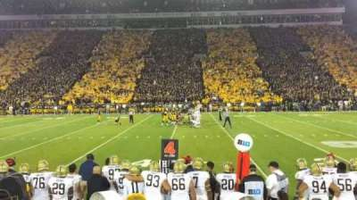 Kinnick Stadium, section: 105, row: 8, seat: 3