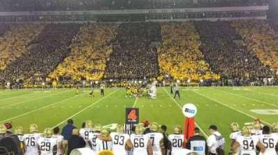 Kinnick Stadium, section: 105, row: 8, seat: 3