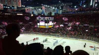 Joe Louis Arena, section: 219, row: 12, seat: 3