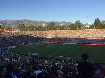 Rose Bowl, section: 20L, row: 60, seat: 1
