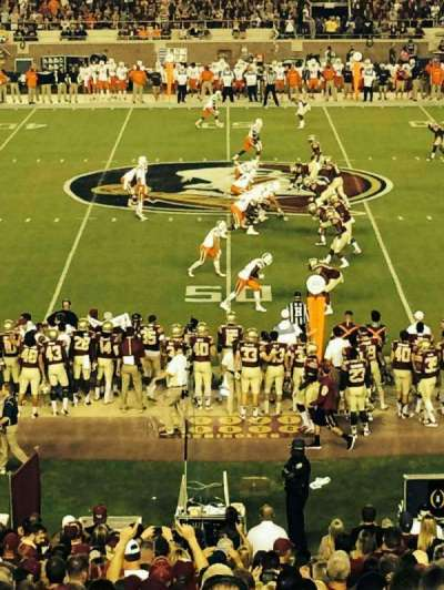 Bobby Bowden Field at Doak Campbell Stadium, section: 33, row: 37, seat: 15