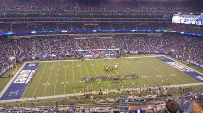 MetLife Stadium, section: 340, row: 7, seat: 15