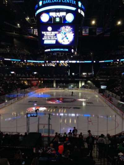 Barclays Center, section: 16, row: 18, seat: 7