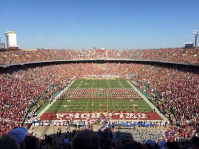 Cotton Bowl, section: 138, row: 17, seat: 17
